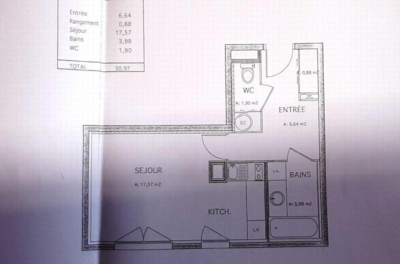 Alquiler  apartamento Villeurbanne 466€ CC - Fotografía 4