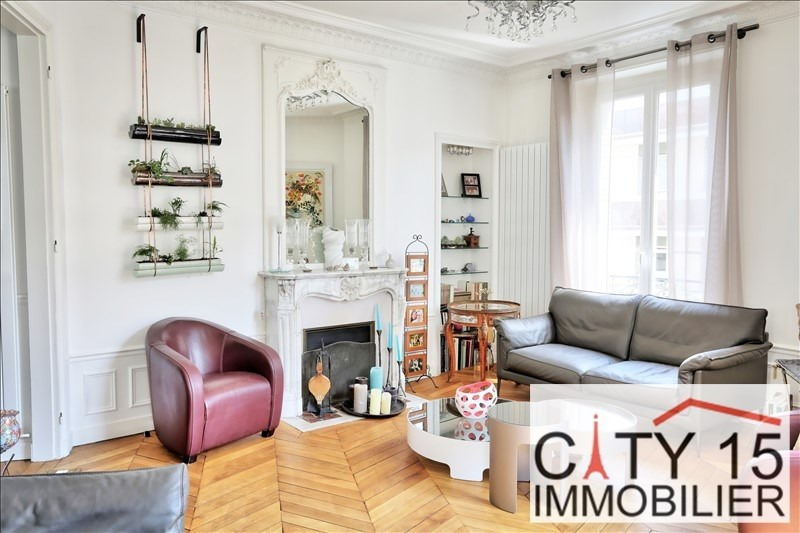 Vente de prestige appartement Paris 15ème 1 740 000€ - Photo 1