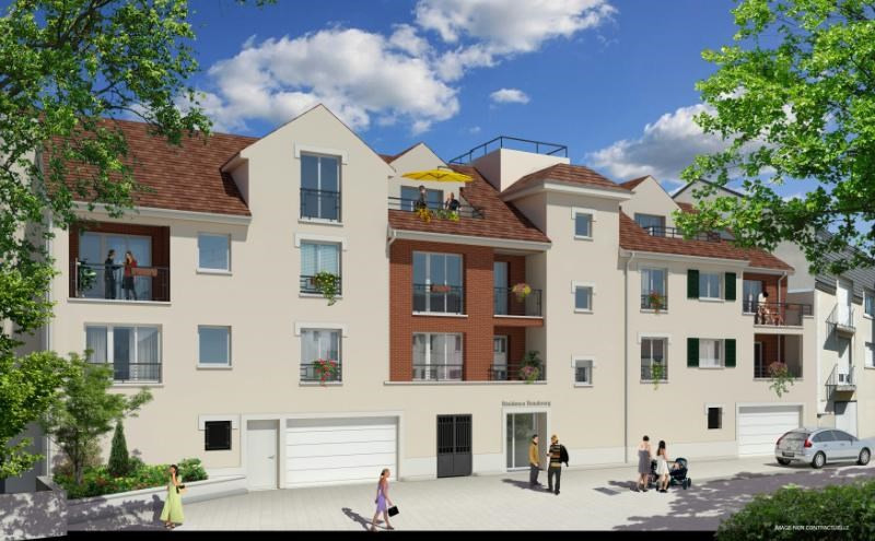 R sidence beaubourg programme immobilier neuf claye for Residence immobilier