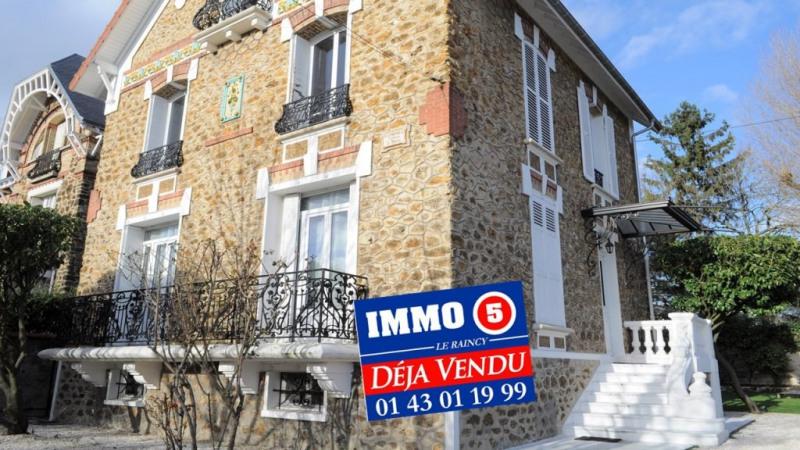 Vente maison / villa Villemomble 735000€ - Photo 1