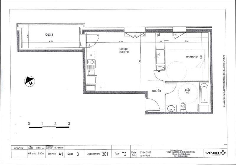 Location appartement Barberaz 606€ CC - Photo 1