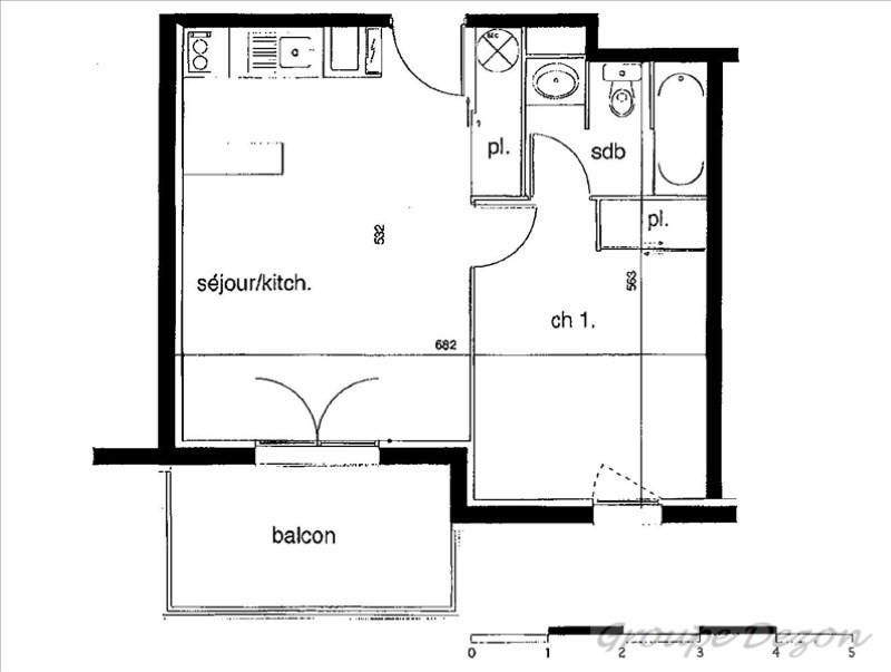 Produit d'investissement appartement Montauban 66000€ - Photo 3