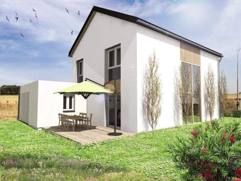 """Modèle de maison  """"Maison performante en ossature bois"""" à partir de 6 pièces Meurthe-et-Moselle par INNOV'HABITAT"""