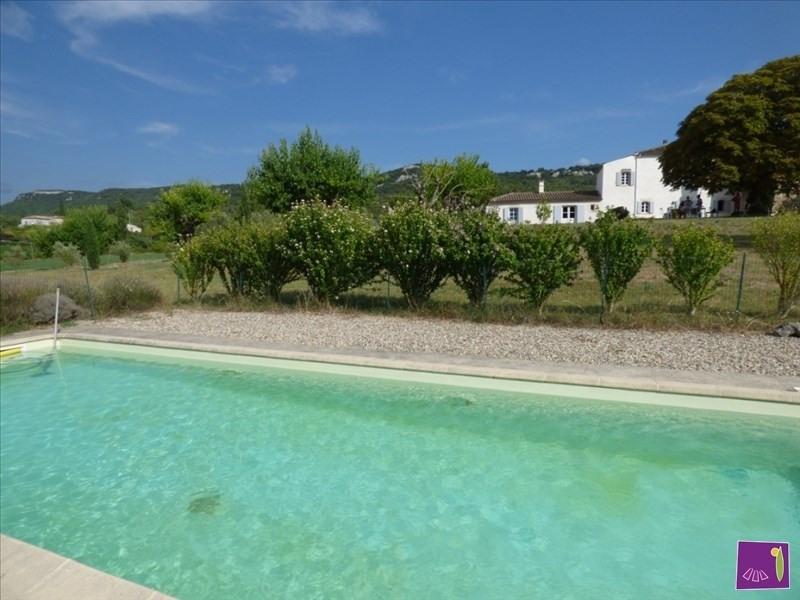 Vente maison / villa Ruoms 498000€ - Photo 1