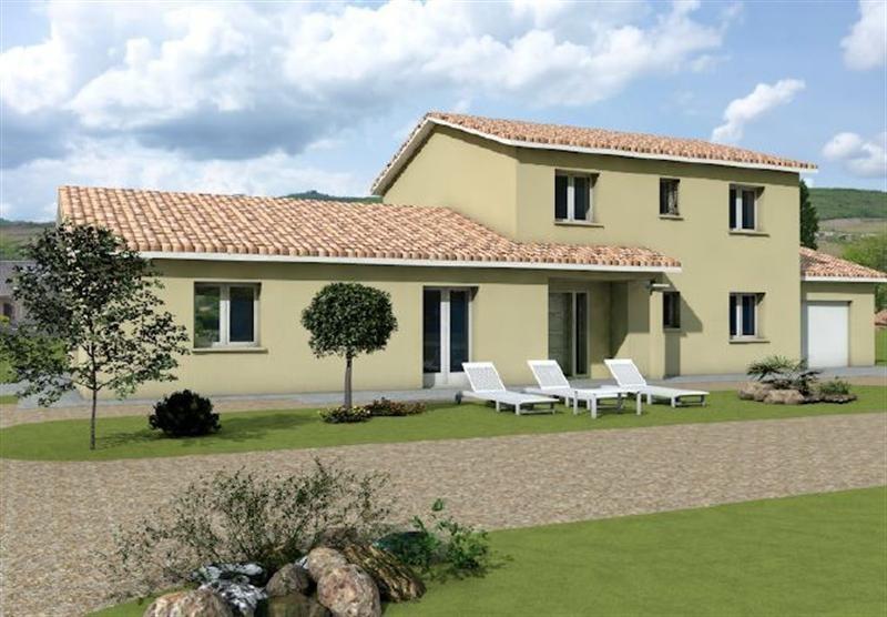 Maison  6 pièces + Terrain 955 m² Macon par MAISONS ARLOGIS