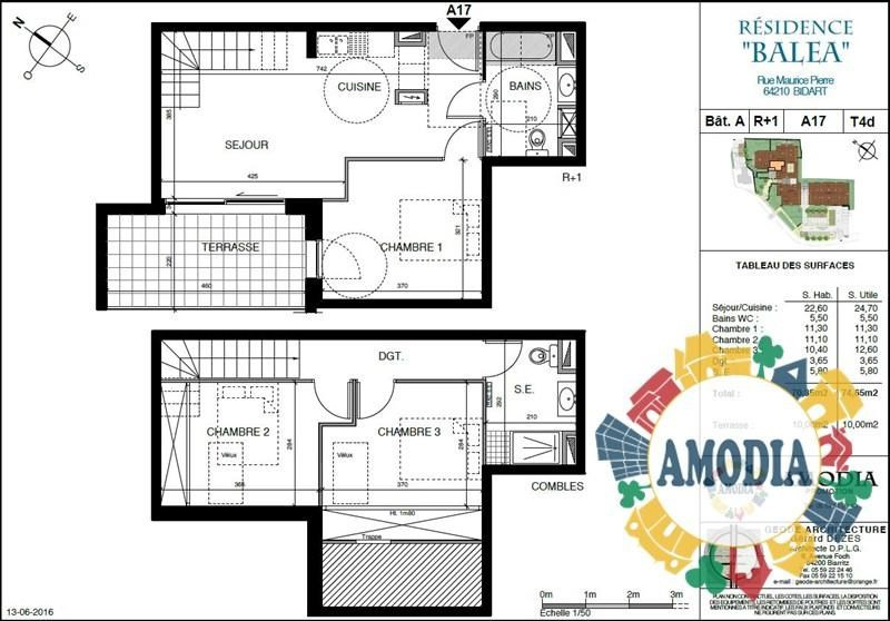 Vente appartement Bidart 375000€ - Photo 3