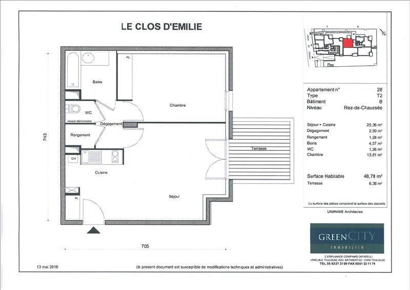 Vente appartement Ferney voltaire 262900€ - Photo 1