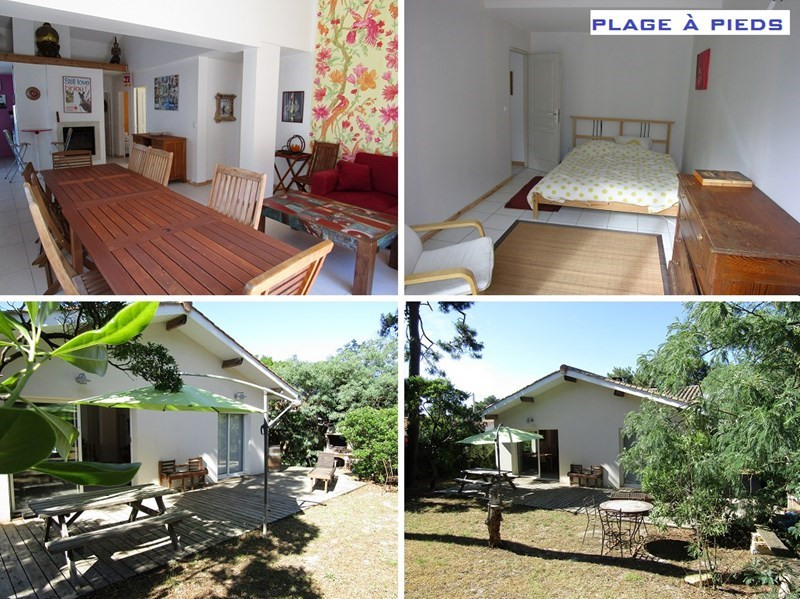 Vacation rental house / villa Lacanau-ocean 1195€ - Picture 1