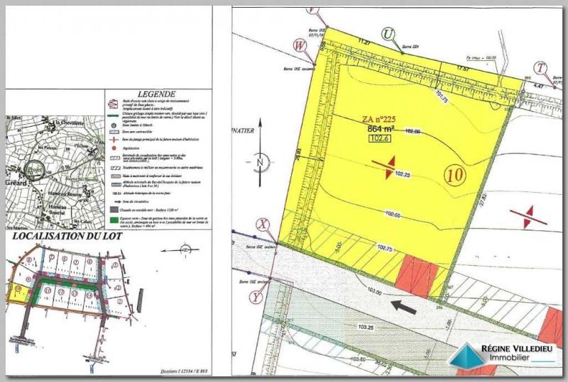 Terrain constructible Saint-Martin-le-Gréard