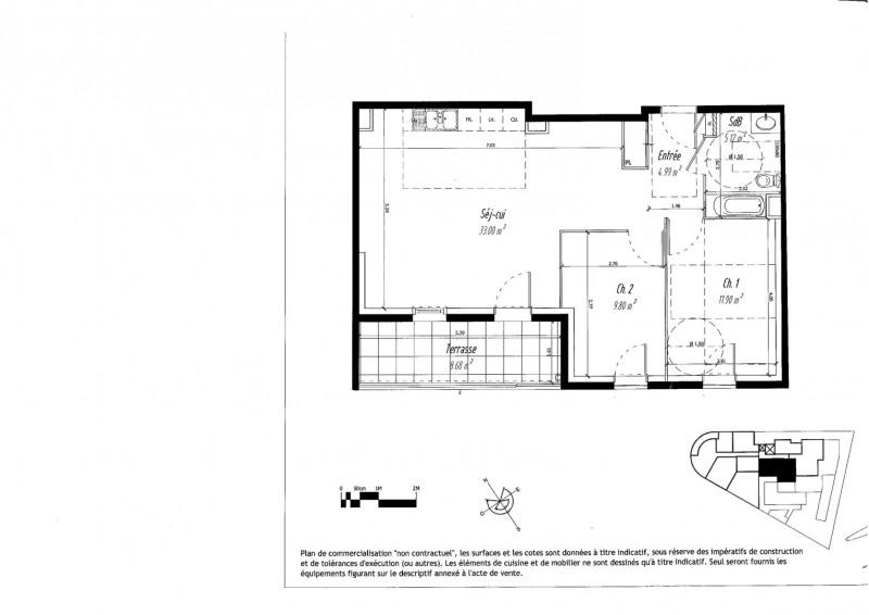 Location appartement Venissieux 810€ CC - Photo 2