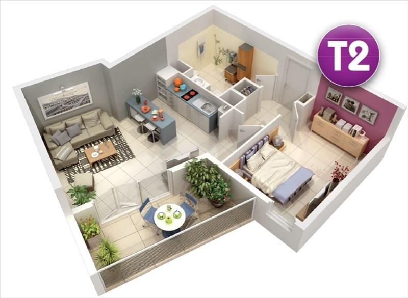 Vente appartement Castelnau le lez 342000€ - Photo 2