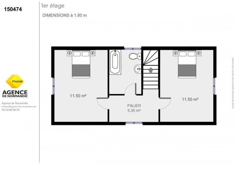 Vente maison / villa Montreuil-l'argille 150000€ - Photo 12