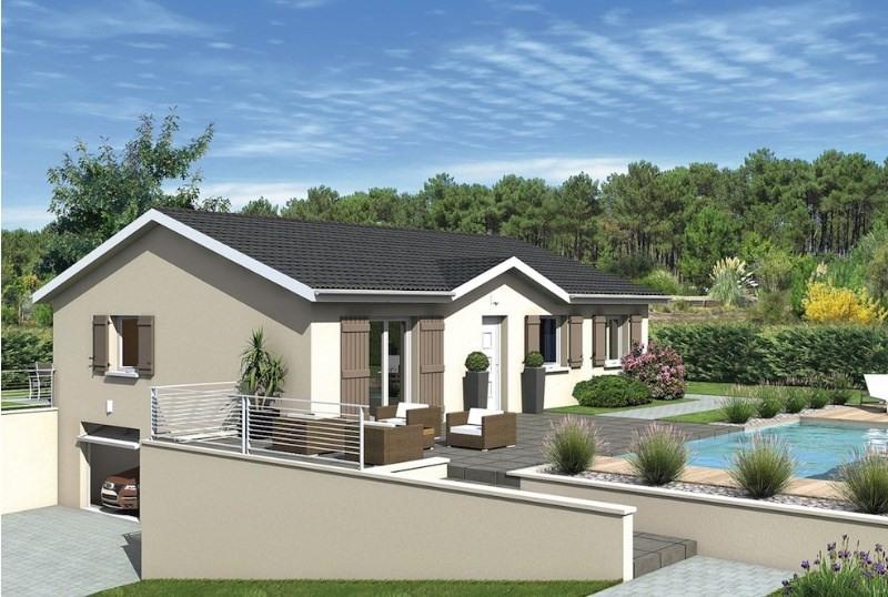 Maison  3 pièces + Terrain 950 m² Belley par MAISONS PUNCH AMBERIEU