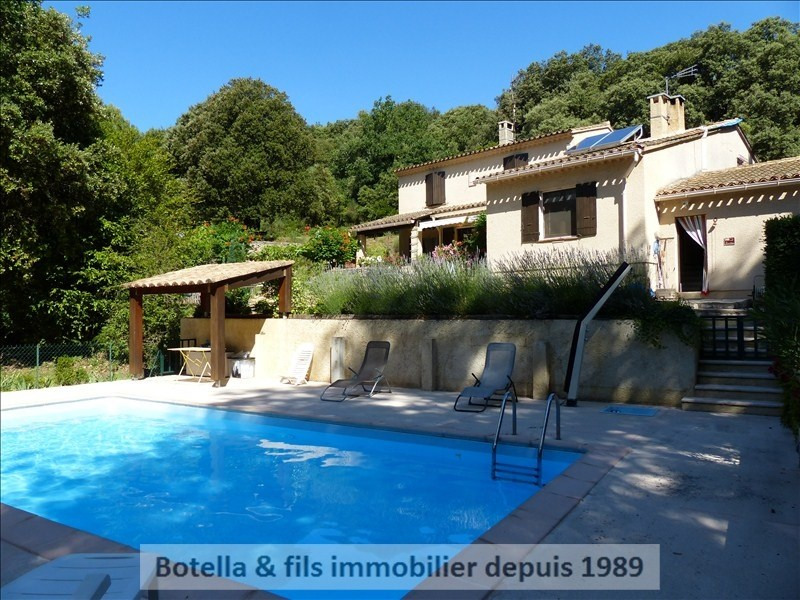 Vente maison / villa Goudargues 399900€ - Photo 1