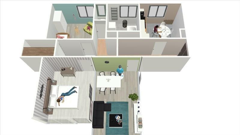 Vente appartement Annemasse 155000€ - Photo 6