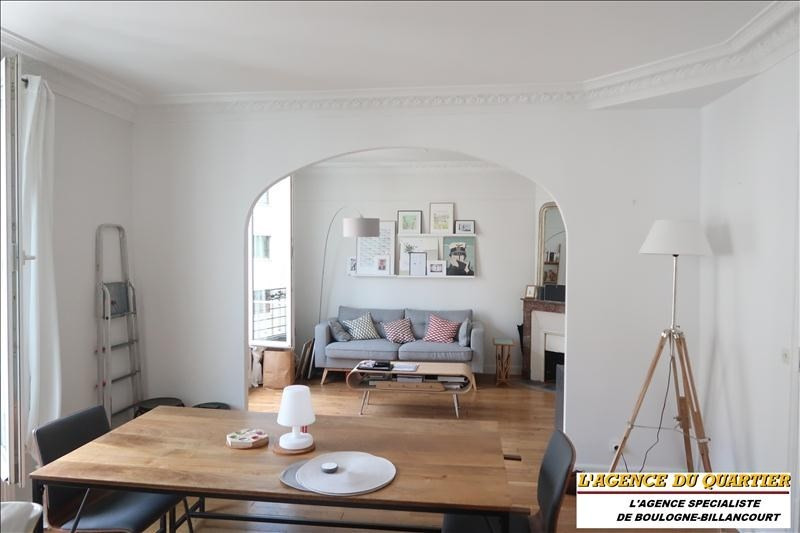 Rental apartment Boulogne-billancourt 1 550€ CC - Picture 2