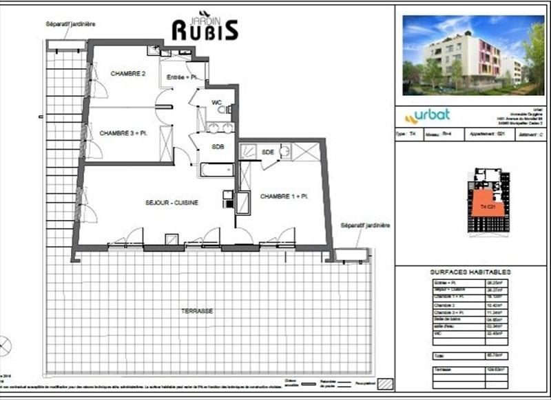 Vente appartement Montpellier 367000€ - Photo 5