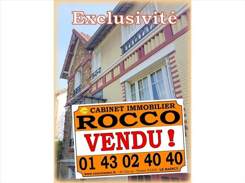 Vente maison / villa Le raincy 372 000€ - Photo 1