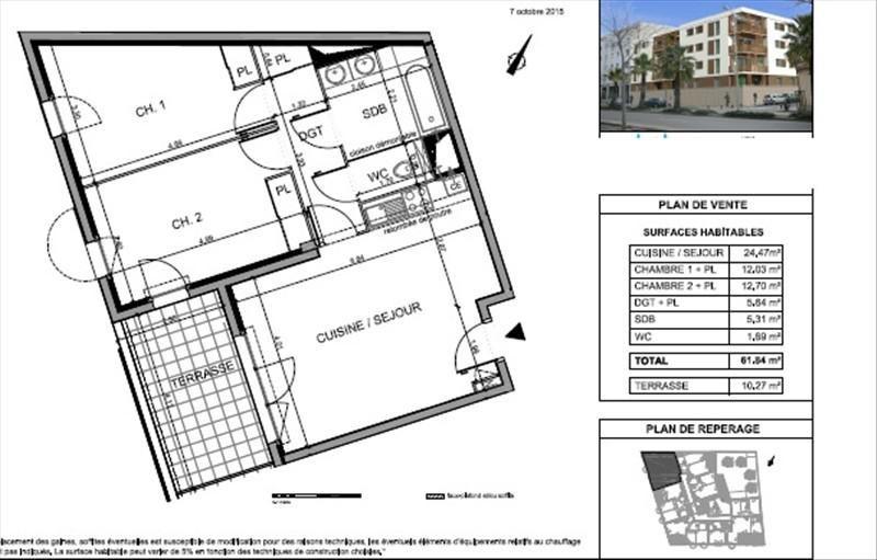 Vente appartement Nimes 209000€ - Photo 5