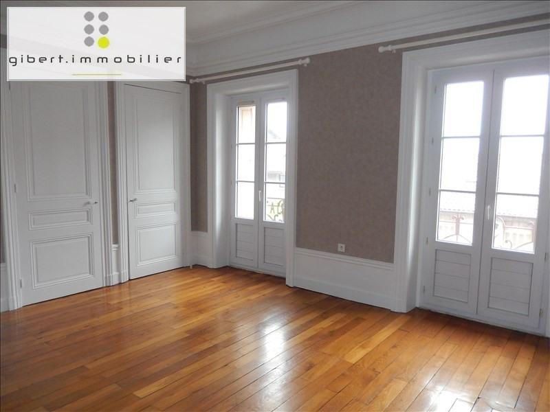 Rental apartment Le puy en velay 362,79€ CC - Picture 1