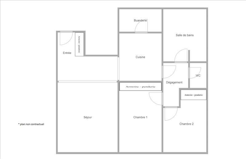 Sale apartment Suresnes 438000€ - Picture 6
