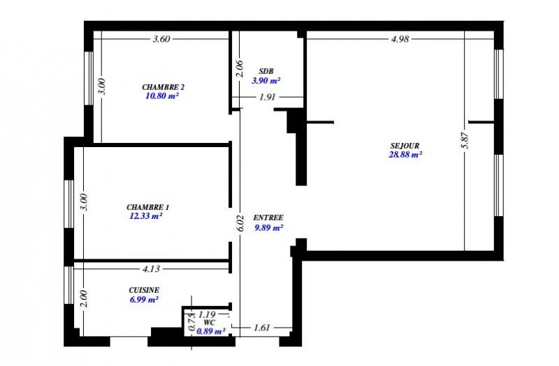 Location appartement Asnières-sur-seine 1595€ CC - Photo 5