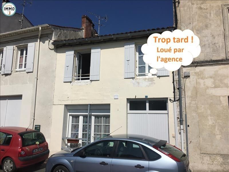 Rental apartment Mortagne sur gironde 379€ CC - Picture 1