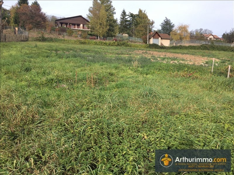 Vente terrain Sermerieu 74000€ - Photo 2