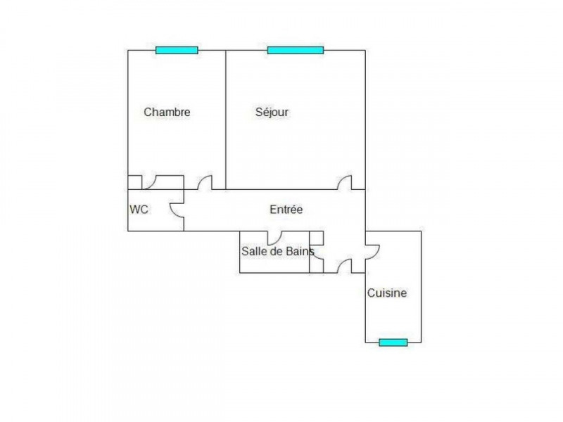 Location appartement Nice 950€ CC - Photo 2