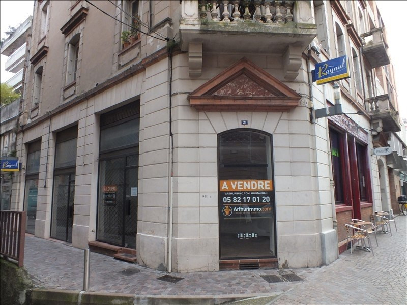 Vente local commercial Montauban 120 000€ - Photo 1