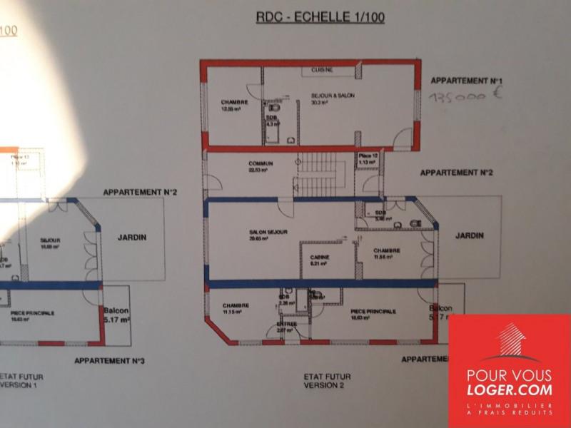 Vente appartement Berck 135000€ - Photo 1