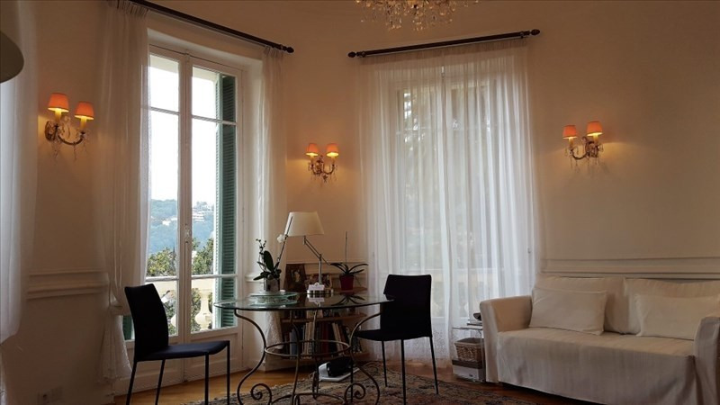 Vente de prestige appartement Menton 820 000€ - Photo 1
