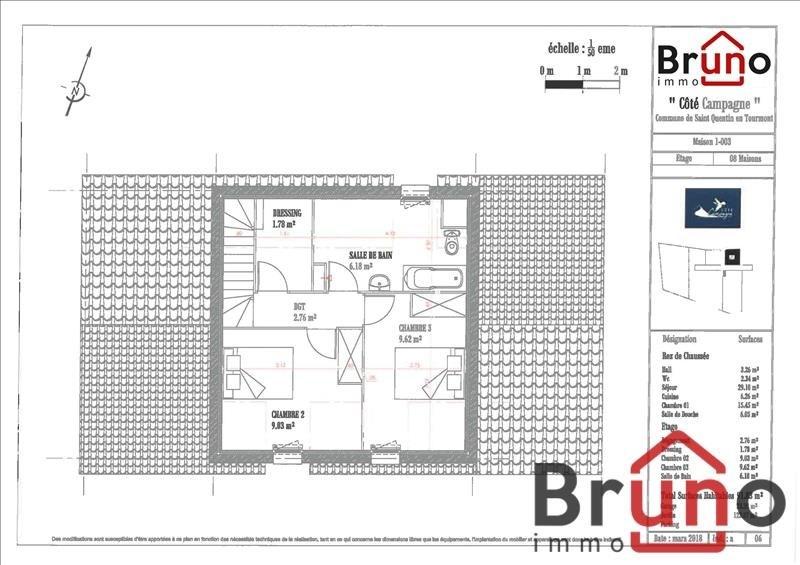 Vendita casa St quentin en tourmont 300000€ - Fotografia 5