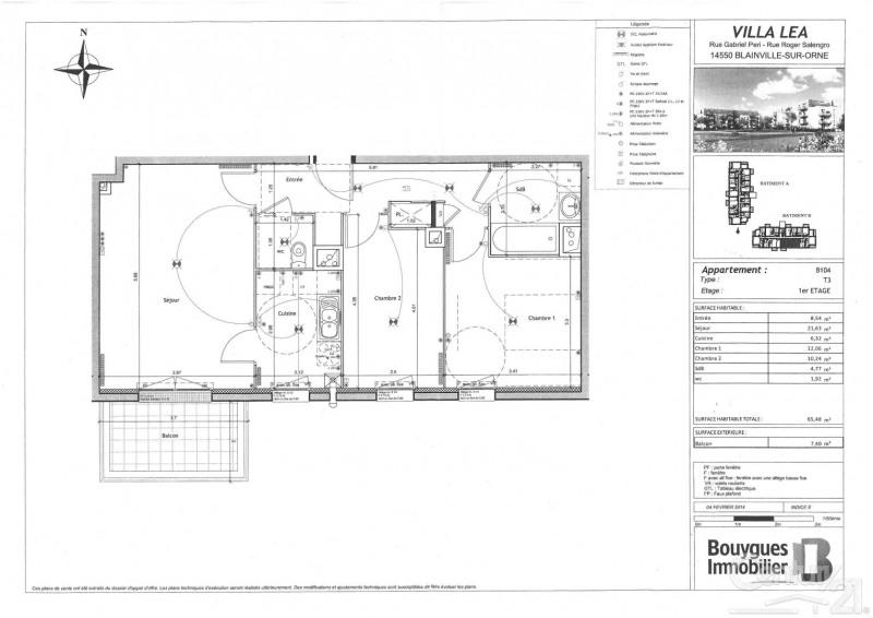 Rental apartment Blainville sur orne 654€ CC - Picture 2