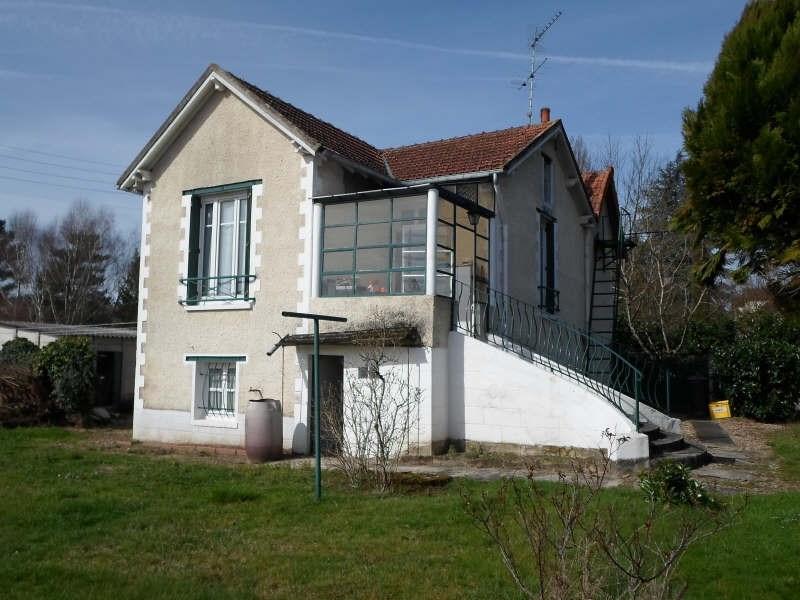 Vente maison / villa Chatres sur cher 85000€ - Photo 1