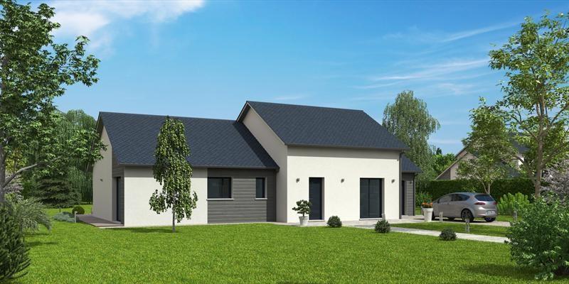 Maison  5 pièces + Terrain 1073 m² Faverolles et Coemy par MAISON NATILIA