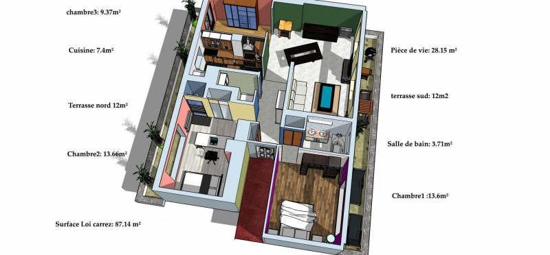 Venta  apartamento Sartrouville 345000€ - Fotografía 9