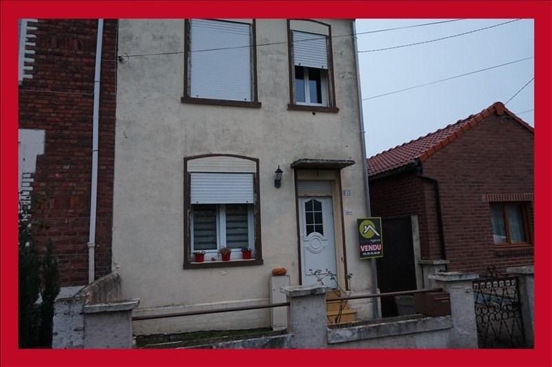 Vente maison / villa Wahagnies 152900€ - Photo 1