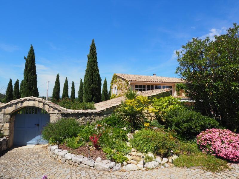 Vente de prestige maison / villa Goudargues 580000€ - Photo 9