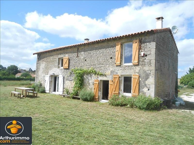 Sale house / villa Aulnay 89700€ - Picture 1