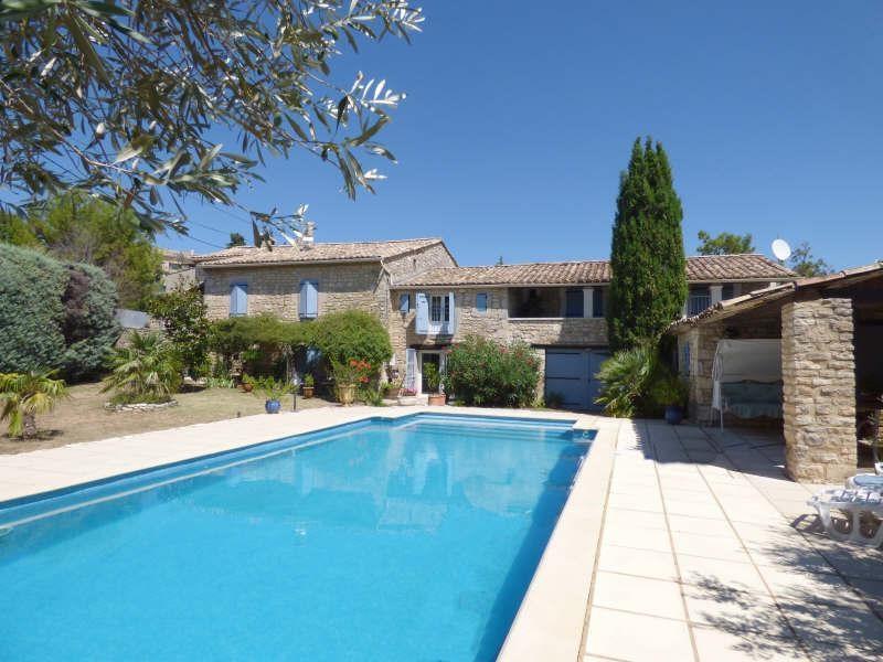 Vente de prestige maison / villa Goudargues 626000€ - Photo 1
