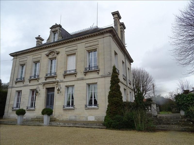Deluxe sale house / villa Soissons 545000€ - Picture 1