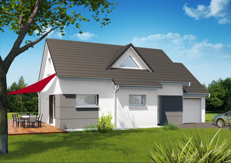 """Modèle de maison  """"Modèle de maison 4 pièces"""" à partir de 4 pièces Haute-Saône par MAISONS ROCBRUNE"""