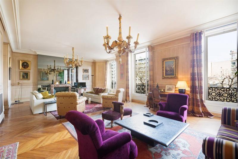 Venta de prestigio  apartamento Paris 16ème 3250000€ - Fotografía 1