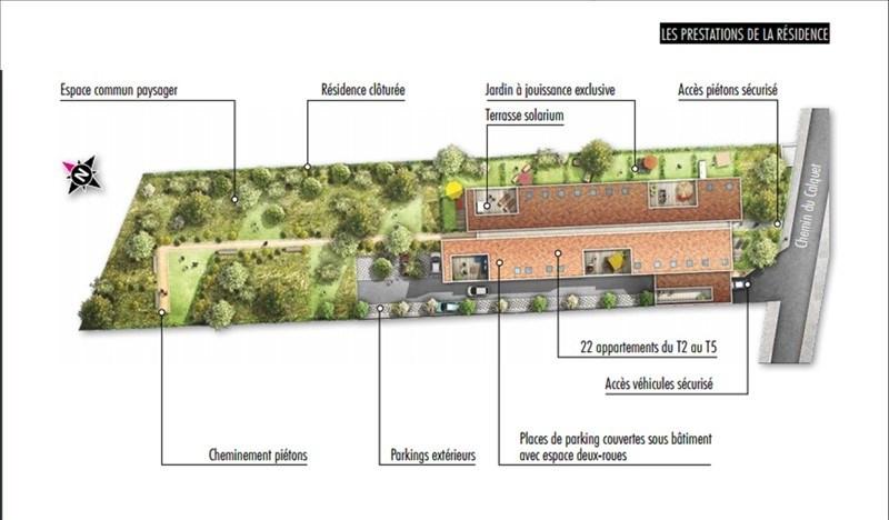 Vente appartement Toulouse 249900€ - Photo 3