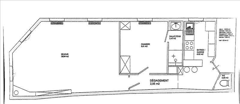 Rental apartment Bois colombes 950€ CC - Picture 7