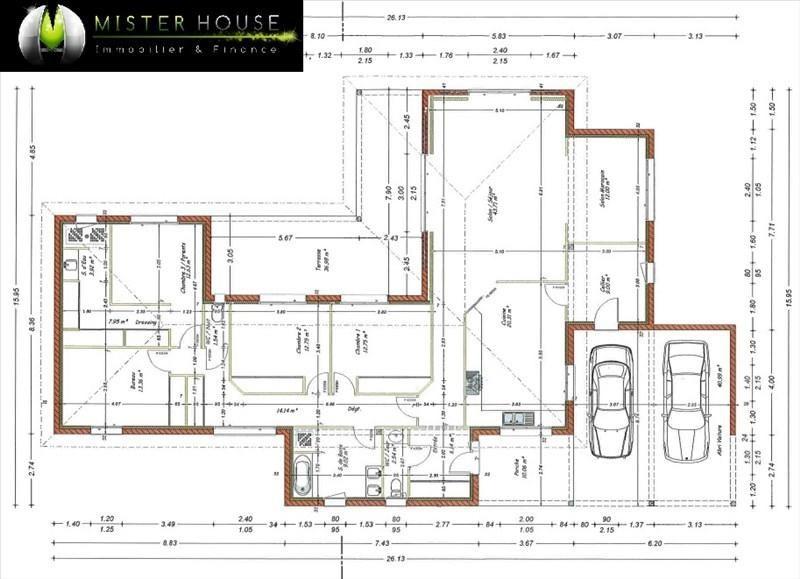 Vente maison / villa Montauban 440000€ - Photo 2