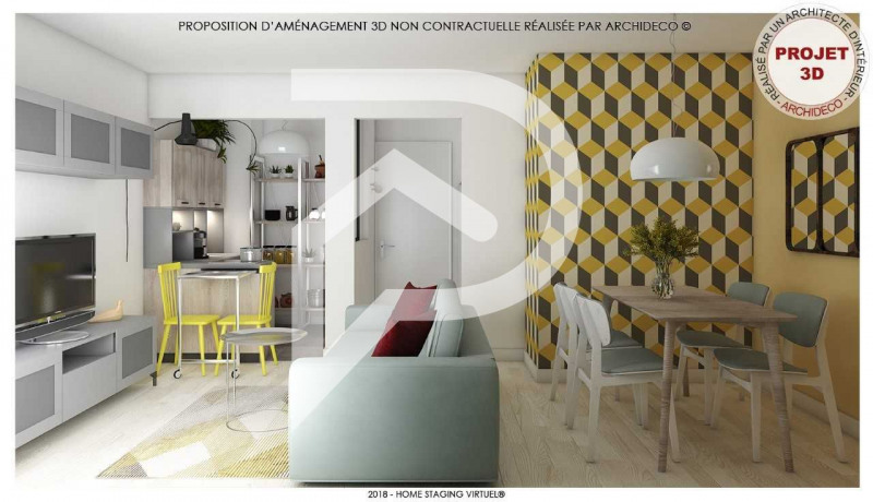Sale apartment Eaubonne 122 000€ - Picture 1