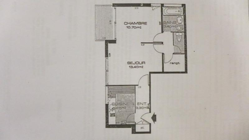 Venta  apartamento Paris 15ème 458850€ - Fotografía 3