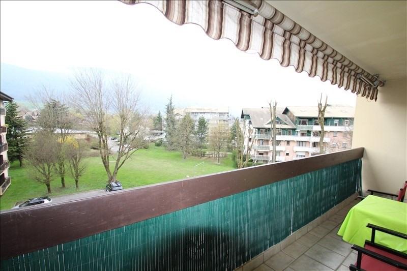 Verkoop  appartement La motte servolex 175000€ - Foto 1